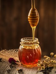 Honing - Havermout Natuurlijke Scrub Zeep