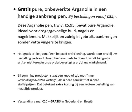 Gratis Bij Bestellingen vanaf €30,-: Gratis Zeep met Havermout+Aloë Vera
