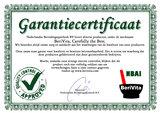 Indigo Poeder certificaat