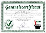 certificaat rollerflesjes bruin
