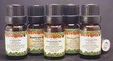 rustgevende ontspannende etherische olie set mix
