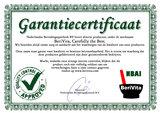 Garantie Certificaat Berivita