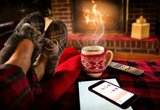 winter kerst etherisch olie