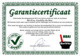 Aloe vera Poeder certificaat