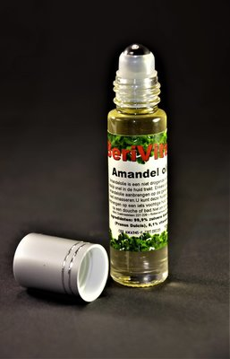 Amandelolie Puur 10ml Roller - Sweet Almond Oil