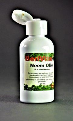 Neemolie 100% Puur 50ml fles - Neem Olie voor Mens, Dier en Plant