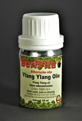 Ylang Ylang Olie 100% 50ml - Etherische Olie
