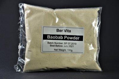 Baobab Poeder 100% Zuiver 100gr