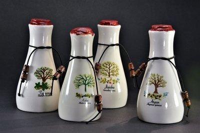 Luxe Oliën Set met Kukui, Argan, Tamanu en Jojoba Olie in mooie 50ml Karaffen