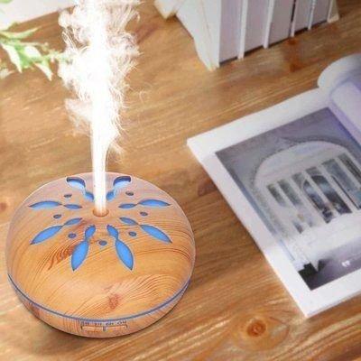 Aroma Diffuser, Ultrasone Vernevelaar en Bevochtiger - Etherische Olie