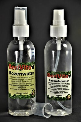 Rozenwater en Lavendelwater 100% Puur - Voordeelset