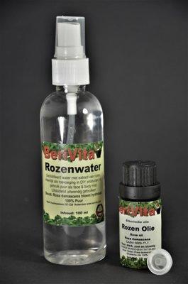 Rozenolie en Rozenwater 100% - Voordeelset
