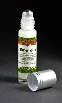 Emu, Emoe Olie 100% Puur 10ml - Rollerfles