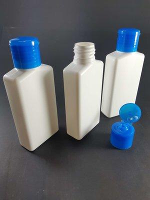 Fles 100ml en Klepdop 50 stuks - Navulbaar