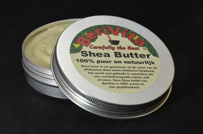 Bloemen Shea Butter Zalf 50ml - Jasmijnolie en Geraniumolie