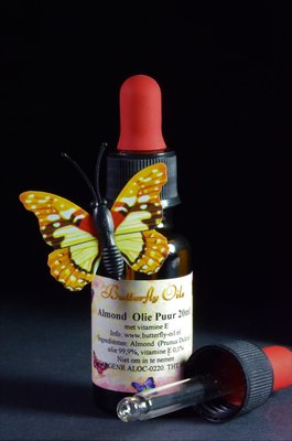 Amandelolie Puur 20ml Pipetfles - Sweet Almond Oil