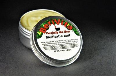 Meditatie Shea Butter Zalf 50ml - Mirre Olie en Ylang Ylang Olie