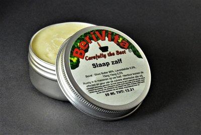 Slapen Shea Butter Zalf 50ml - Lavendelolie en Ylang Ylang Olie