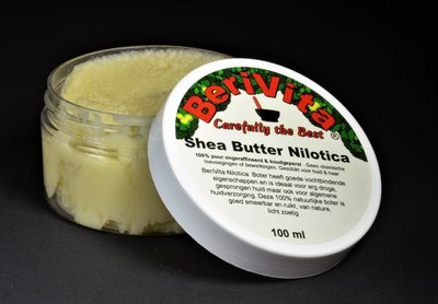 Nilotica Shea Butter Puur 100ml Pot