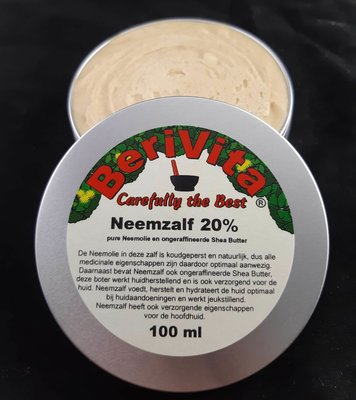 Neemzalf 20% 100ml - Neemolie met Shea Butter