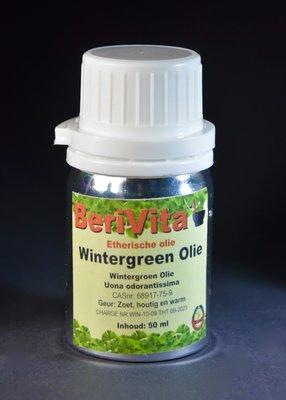Wintergroen Olie 100% 50ml - Wintergreen Etherische Olie