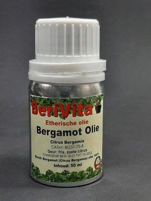 Bergamot Olie 100% 50ml - Etherische Olie