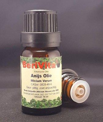 Anijsolie 100% 10ml - Etherische Olie