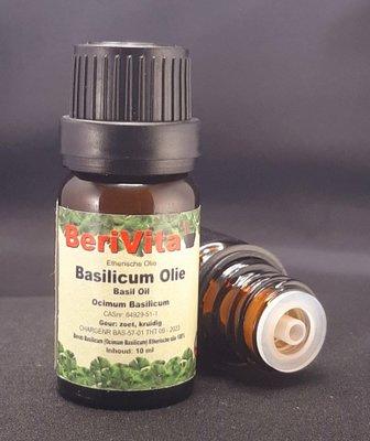 Basilicum Olie 100% 10ml - Etherische Olie