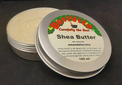 Shea Butter met Amandel 100ml - Blik