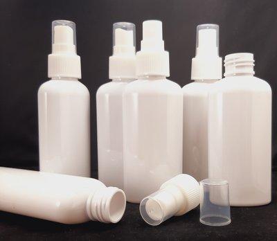 Fles 100ml en Spraydop 10 stuks - Navulbaar, Lege Plastic Sprayflesjes 100ml