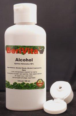 Alcohol 96% Fles 100ml - Alcohol Ketonatus voor Ontsmetting en Desinfectie