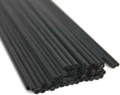 Geurstokjes 500st Zwart 20cm Navulling - Fiber
