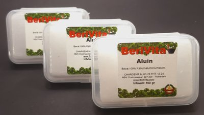 Aluinblokjes 3x100gr - 100% Puur Aluin met bakje