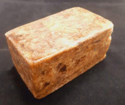 African Black Soap 250gr Blok - Afrikaanse Zwarte Zeep