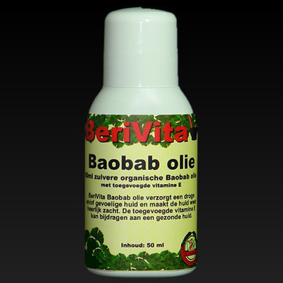 Baobab Olie Puur 50ml flacon