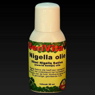 Nigella Olie Puur 50ml flacon