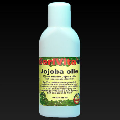 Jojoba Olie Puur 100ml flacon