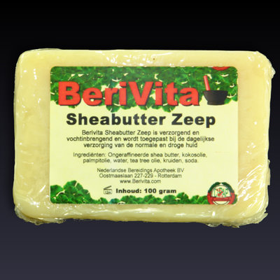 Shea Butter + Pure Tea Tree Olie Zeeptablet 100gr