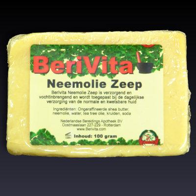 Neemolie met Shea Butter Natuurlijke Zeep - 100gr