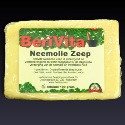 Shea Butter + Pure Neemolie Zeeptablet 100gr