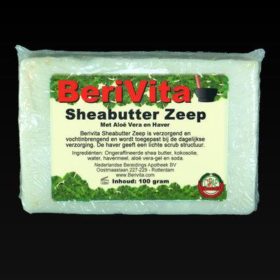 Shea Butter + Havermout & Aloë Vera Zeeptablet 100gr