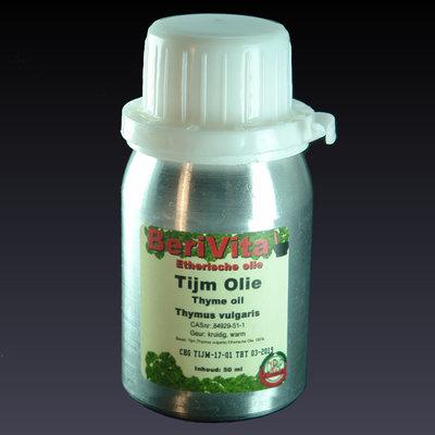 Tijmolie 100% 50ml - Etherische Olie