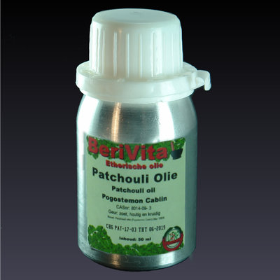 Patchouli Olie 100% 50ml - Etherische Olie