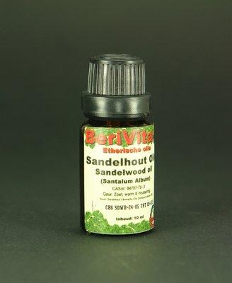 Sandelhout Olie 10ml Druppelfles - Etherische Olie