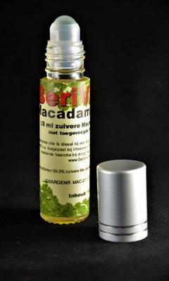 Macadamia Olie Puur 10ml - Rollerfles