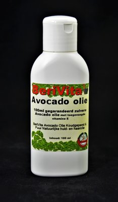 Avocado Olie Puur 100ml flacon