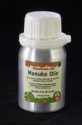 Manuka Olie 100% 50ml - Etherische Olie