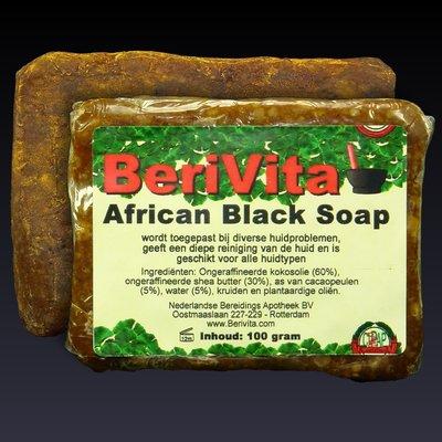African Black Soap - Zwarte Zeep 100gr