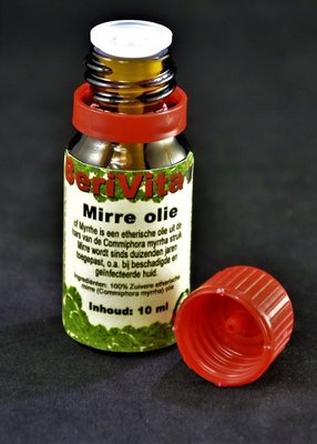 Mirre Olie 100% 10ml - Etherische Olie