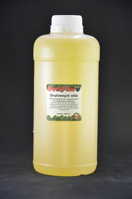 Druivenpitolie Puur Literfles - Grape Seed Oil